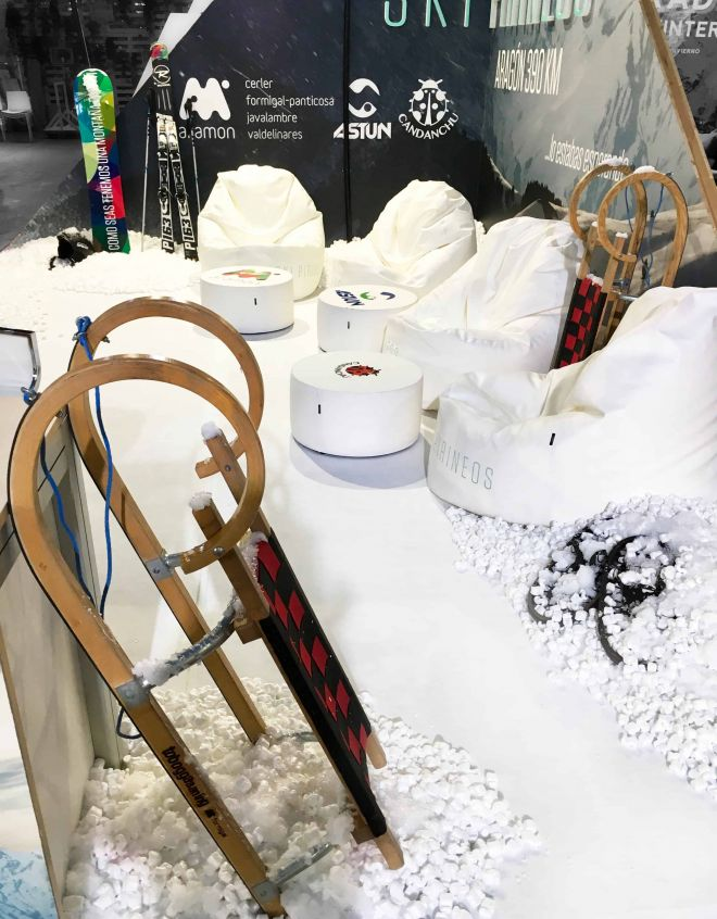 Aramon feria Let´s snow Barcelona (14)